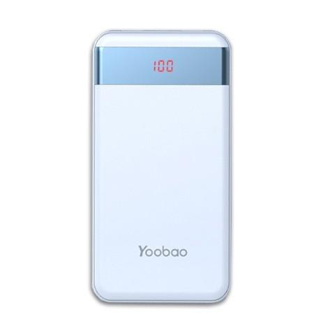 Аккумулятор Yoobao M20 Pro Blue 20000mAh внешний универсальный (голубой)