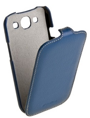 Чехол Melkco для Samsung i9300 Galaxy S3 Dark Blue