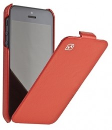 Чехол HOCO Leather case для iPhone 5 Red