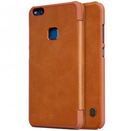 Чехол Nillkin Qin Leather Case для Huawei P10 Lite (Nova Lite) Brown (коричневый)