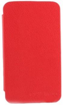 Чехол-обложка для Samsung N7100 Galaxy Note II красный