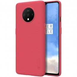 Накладка Nillkin Frosted Shield пластиковая для OnePlus 7T Red (красная)