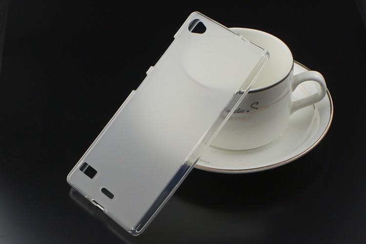 Накладка KissWill силиконовая для Lenovo Vibe X2 Pro прозрачно-белая