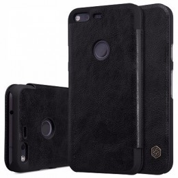"Чехол Nillkin Qin Leather Case для Google Pixel (5.0"") Black (черный)"