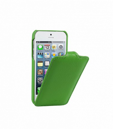 Чехол Melkco Jacka Type для iPhone 5/5s/SE Green (зеленый)