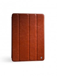 Чехол HOCO Crystal leather case для iPad 4/3/2 Brown (коричневый)
