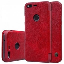 "Чехол Nillkin Qin Leather Case для Google Pixel (5.0"") Red (красный)"