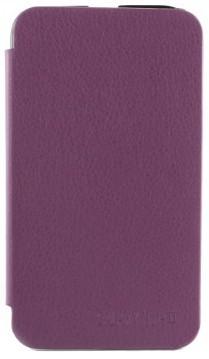 Чехол-обложка для Samsung N7100 Galaxy Note II фиолетовый