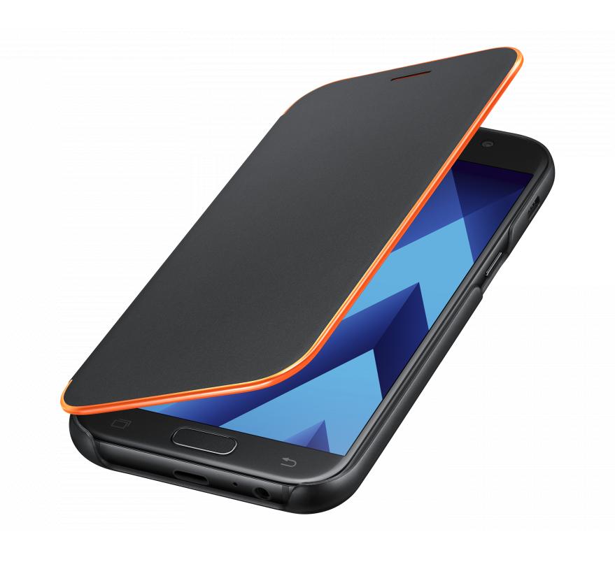 Чехол Neon Flip Cover для Samsung Galaxy A5 (2017) A520 EF-FA520PBEGRU чёрный