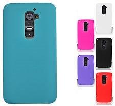 Силиконовая накладка для LG G2 розовая