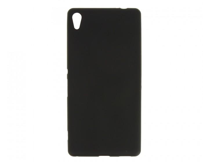 Накладка силиконовая для Sony Xperia C6 черная
