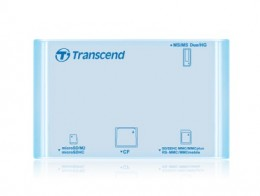 Карт-ридер Transcend TS-RDP8A All in 1 голубой