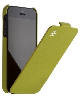 Чехол HOCO Leather case для iPhone 5 Green