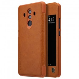 Чехол Nillkin Qin Leather Case для Huawei Mate 10 Pro Brown (коричневый)