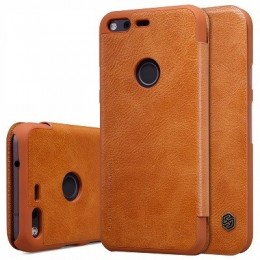 "Чехол Nillkin Qin Leather Case для Google Pixel (5.0"") Brown (коричневый)"