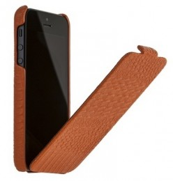 Чехол Borofone Crocodile Leather case Orange для iPhone 5