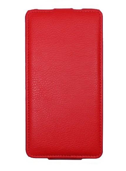 Чехол для Lenovo A606 красный