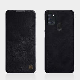Чехол Nillkin Qin Leather Case для Samsung Galaxy A21S (2020) SM-A217 Black (черный)