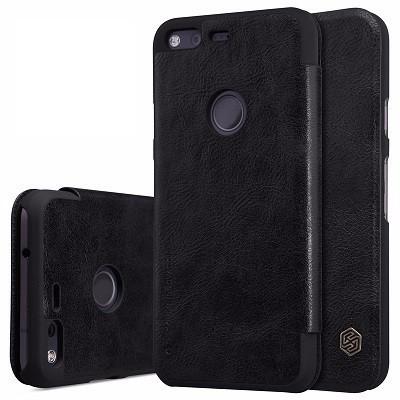 "Чехол Nillkin Qin Leather Case для Google Pixel XL (5.5"") Black (черный)"