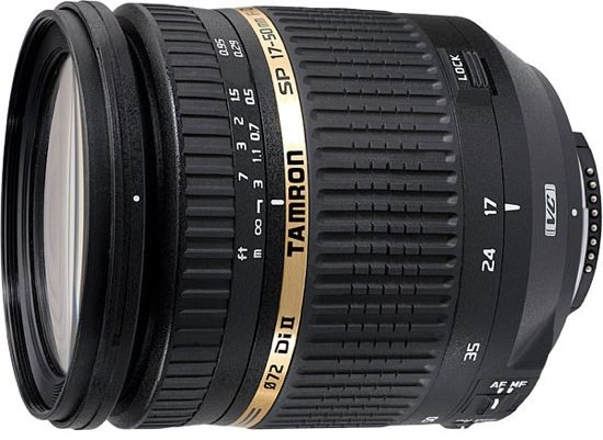 Объектив для зеркального фотоаппарата Canon Tamron SP 17-50 mm f/2.8 XR Di II VC LD Aspherical [IF] Canon