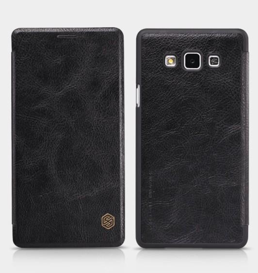 Чехол Nillkin Qin Leather для Samsung Galaxy A7 A700 Black