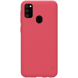 Накладка Nillkin Frosted Shield пластиковая для Samsung Galaxy M30s SM-M307 Red (красная)