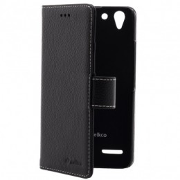 Чехол Melkco Wallet Book Type для Lenovo Vibe K5 (A6020/K5 Plus/Lemon 3) Black LC (черный)