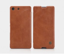 Чехол Nillkin Qin Leather Case для Sony Xperia M5/M5 Dual Brown (коричневый)