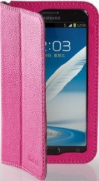 Чехол Yoobao Executive Leather Case for Samsung Galaxy Note II N7100 Розовый