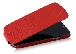 Чехол Borofone Crocodile Leather для Samsung Galaxy S4 i9500 Red