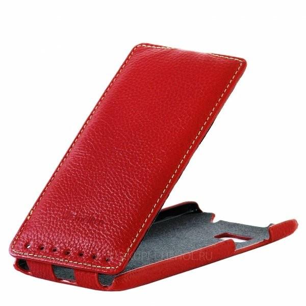 Чехол Melkco для HTC Desire 600 Dual Sim Red
