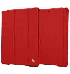 Чехол Jisoncase Executive для iPad 5 Air красный