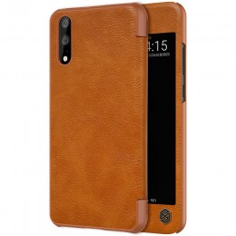 Чехол Nillkin Qin Leather Case для Huawei P20 Brown (коричневый)
