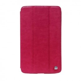 Чехол HOCO Crystal series Leather Case для Samsung Galaxy Tab3 7.0 T211/T210 малиновый