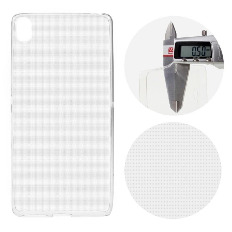 Накладка силиконовая для Sony Xperia X Perfomance прозрачная