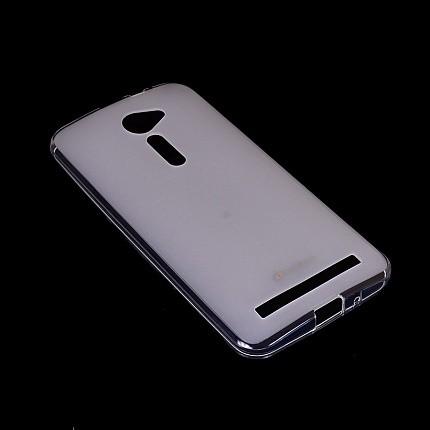 Накладка Melkco Poly Jacket силиконовая для Asus Zenfone 2 ZE500CL Transparent Mat (прозрачная)
