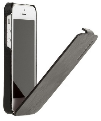 Чехол Borofone General flip Leather case Black для iPhone 5