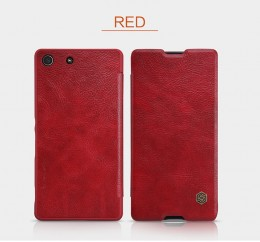 Чехол Nillkin Qin Leather Case для Sony Xperia M5/M5 Dual Red (красный)