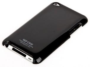 Накладка SGP для iPod touch 4 черная