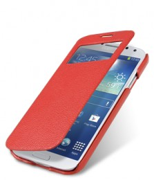 Чехол Melkco ID Book Type для Samsung Galaxy S4 I9500/9505 Red (красный)