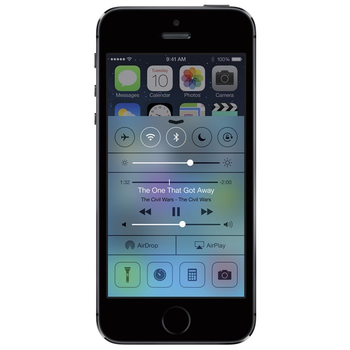 Apple iPhone 5S 16Gb Space grey Как новый