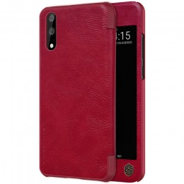 Чехол Nillkin Qin Leather Case для Huawei P20 Red (красный)