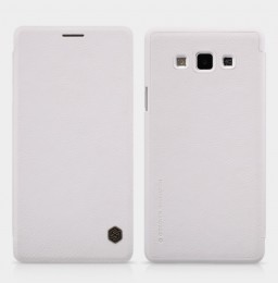 Чехол Nillkin Qin Leather для Samsung Galaxy A7 A700 White