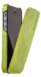 Чехол Borofone General flip Leather case Green для iPhone 5