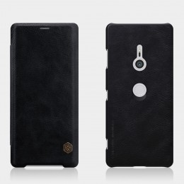 Чехол Nillkin Qin Leather Case для Sony Xperia XZ3 Black (черный)
