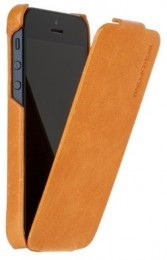 Чехол Borofone General flip Leather case Orange для iPhone 5