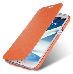 Чехол-книжка Melkco для Samsung Galaxy Note II N7100 Orange