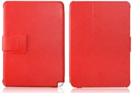 Чехол iCarer Leather Case для Samsung Galaxy Note 10.1 N8000 Red