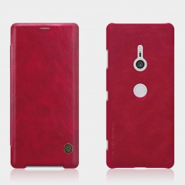 Чехол Nillkin Qin Leather Case для Sony Xperia XZ3 Red (красный)