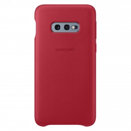 Накладка Samsung Leather Cover для Samsung Galaxy S10e SM-G970 EF-VG970LREGRU красная